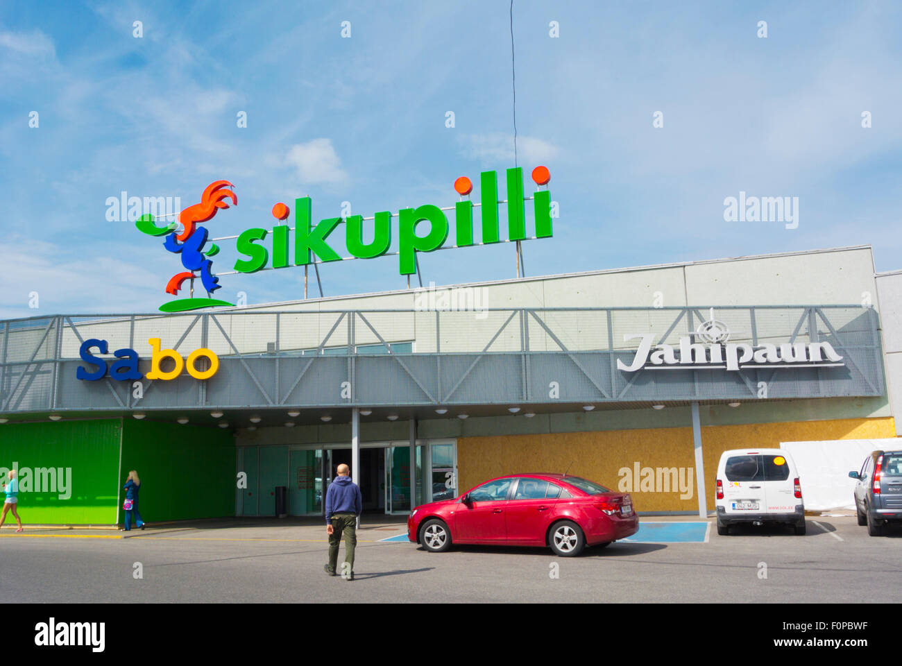 2f85b29c8c2 Shopping centre, Sikupilli district, Tallinn, Harju county, Estonia, Europe