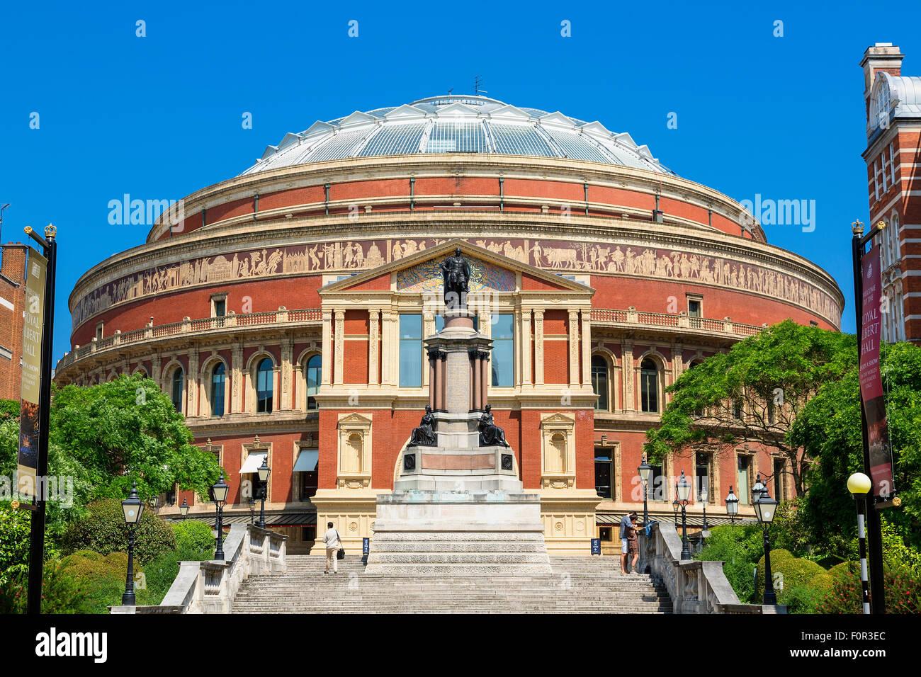 London, Royal Albert Hall - Stock Image