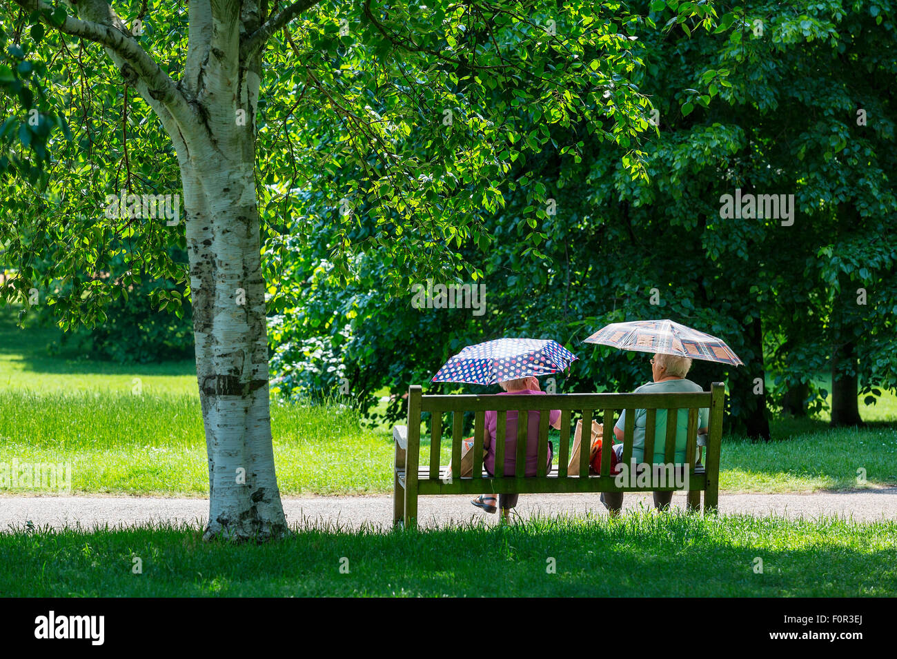 London, Hyde Park - Stock Image