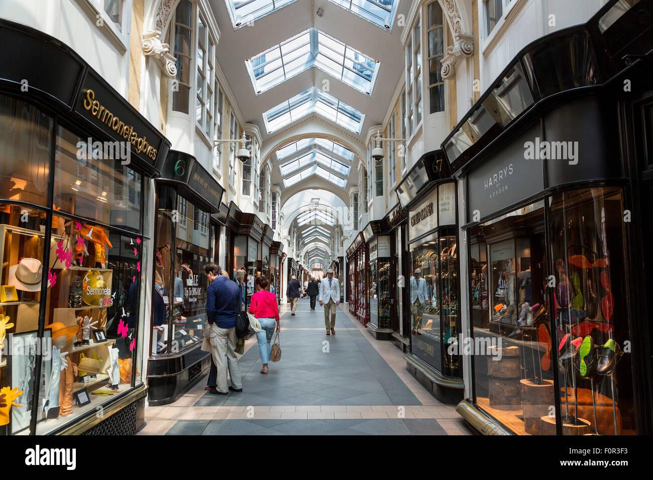 London, Burlington Arcade - Stock Image