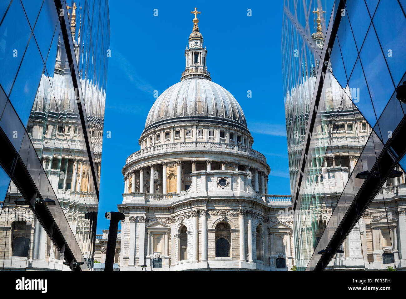 England, London, St. Paul's Cathedral - Stock Image