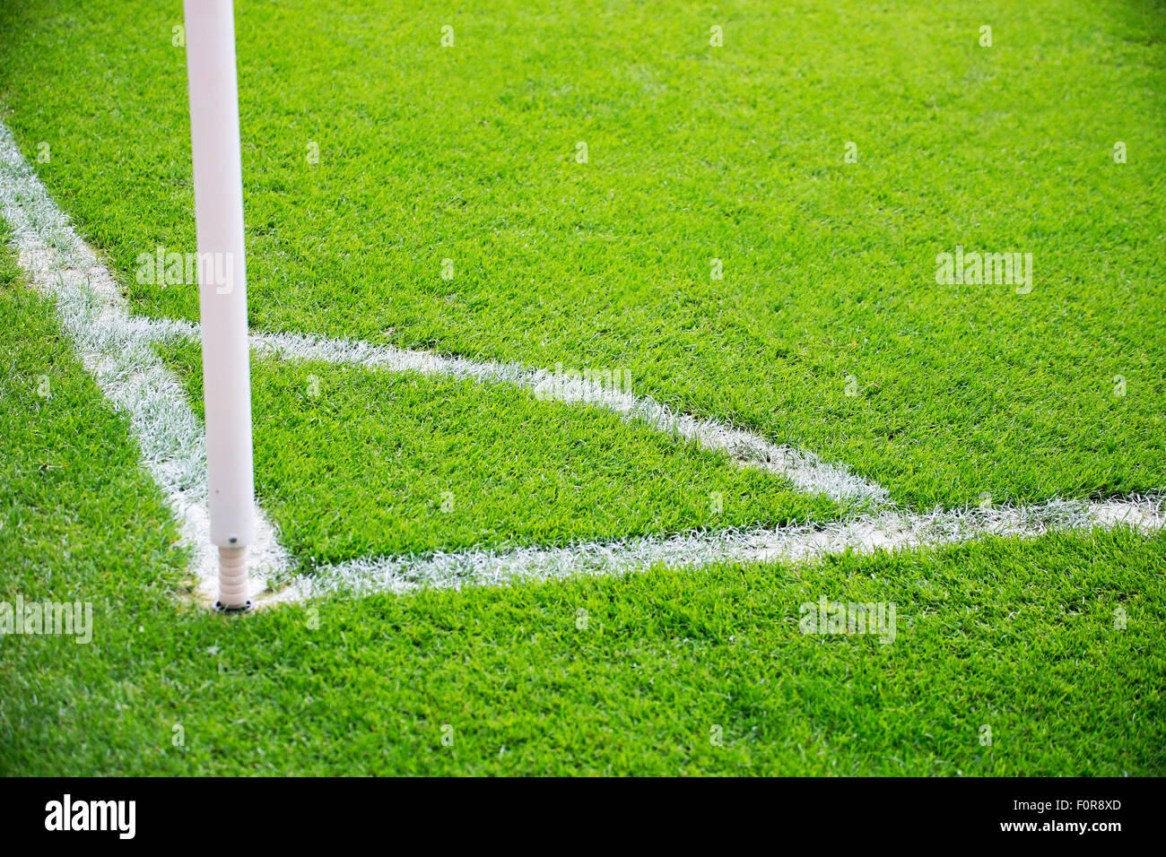 Soccerfield Fussballplatz Stock Photo 86563749 Alamy
