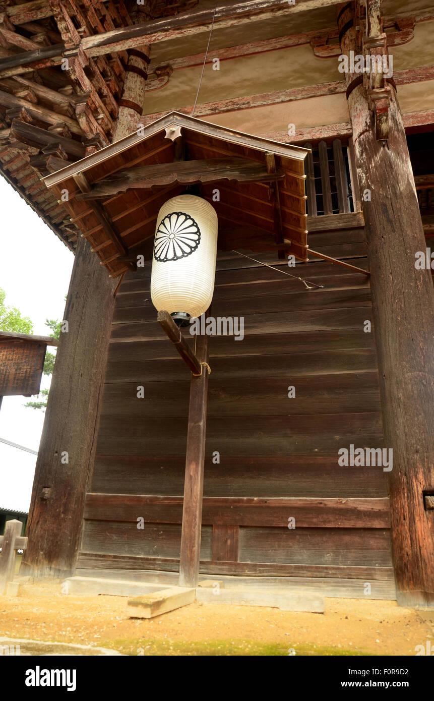 Japanese Lantern Or Lamp Traditional Lighting Equipment Of Todai Ji