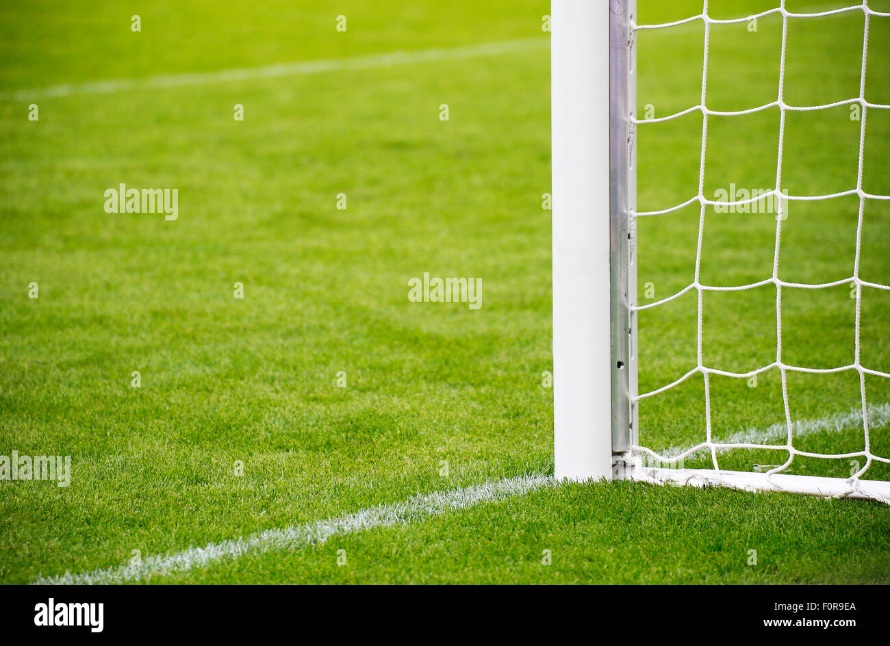 Soccer Playground Fussballplatz Stock Photo 86564194 Alamy