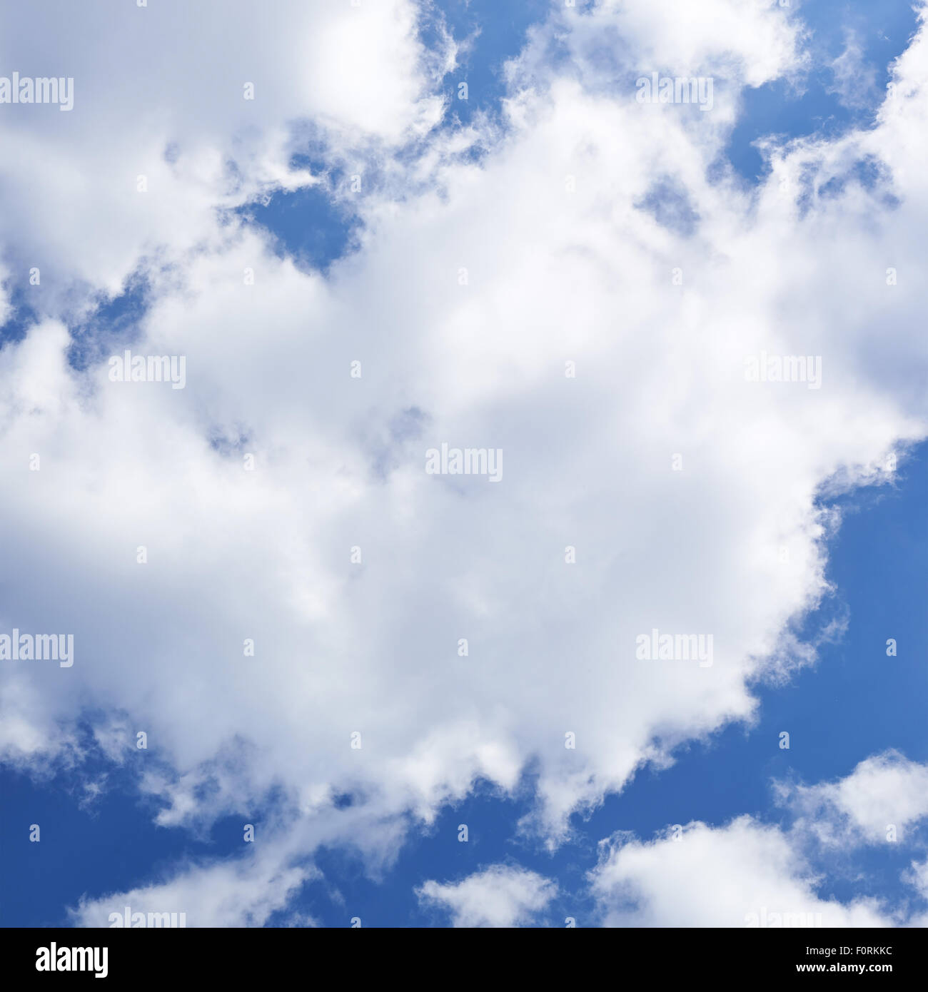 Cloudy sky composition - Stock Image