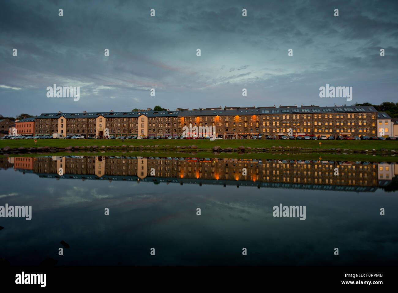 Westport Quay, Westport, Co. Mayo, Ireland - Stock Image