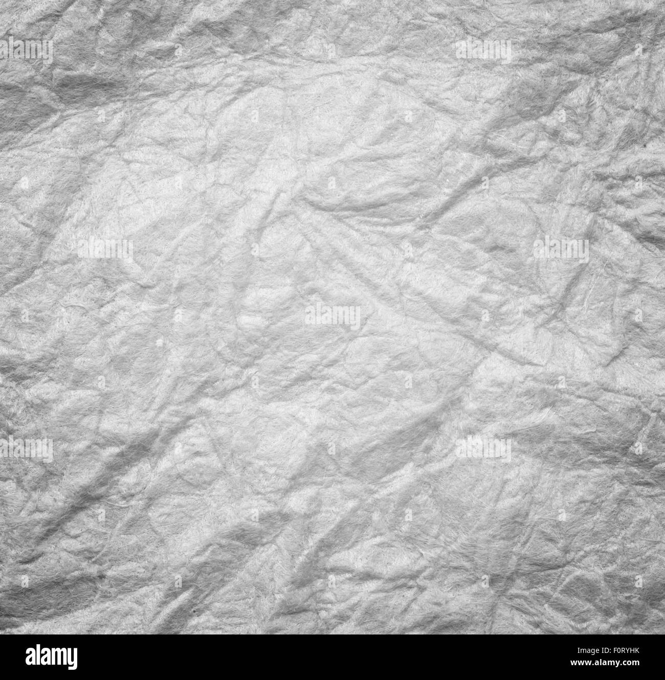 Brown crumpled paper abstract pattern background texture. - Stock Image