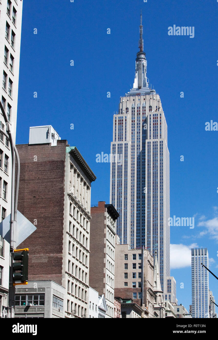 the empire state building at 102 stories is the tallest skyscraper
