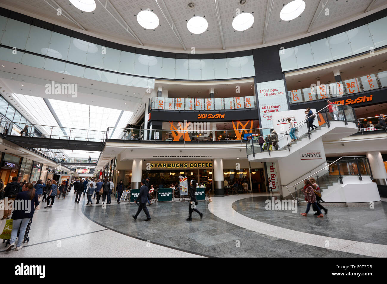 The arndale shopping centre Manchester England UK - Stock Image
