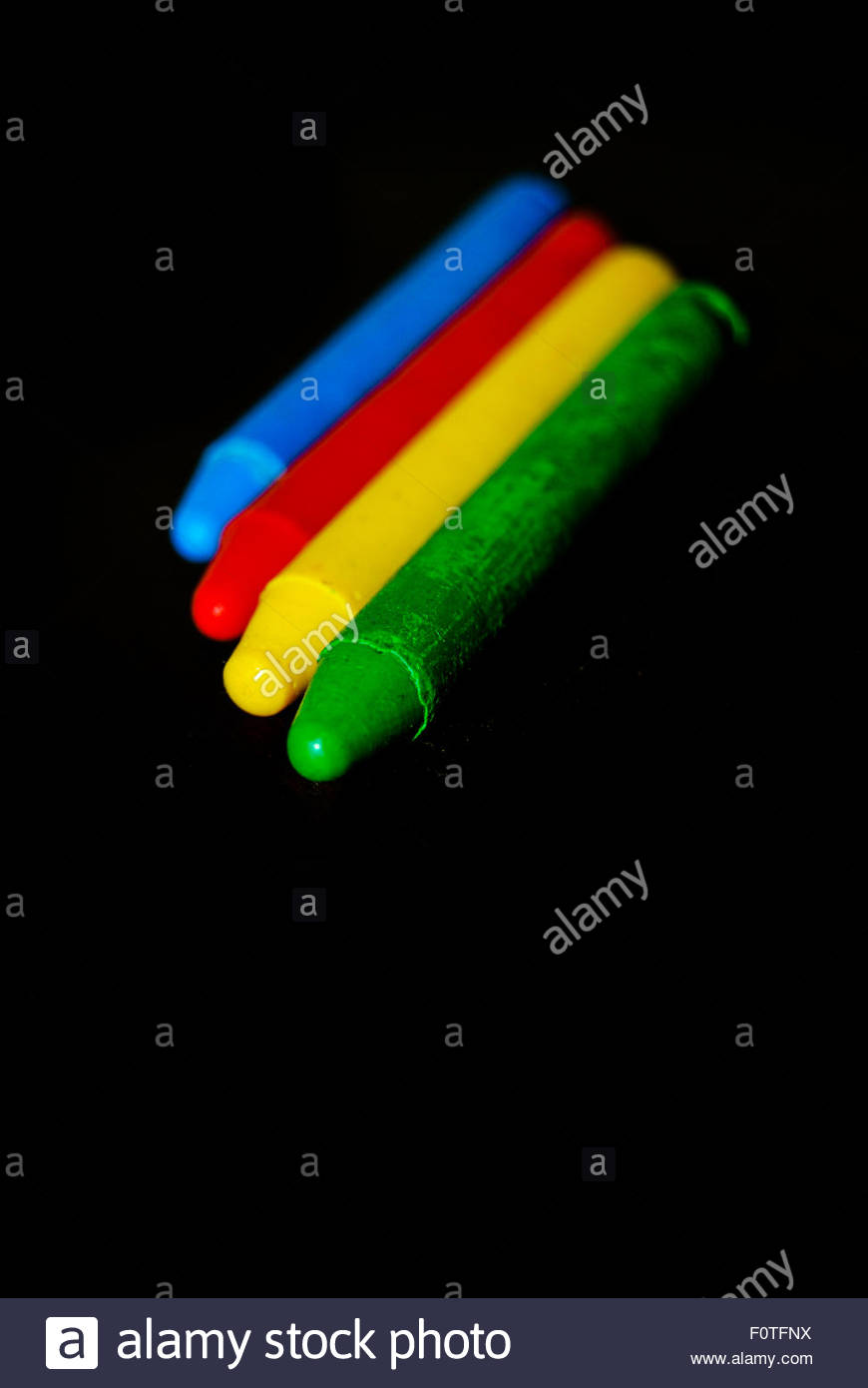 Four Colors - Stock Image