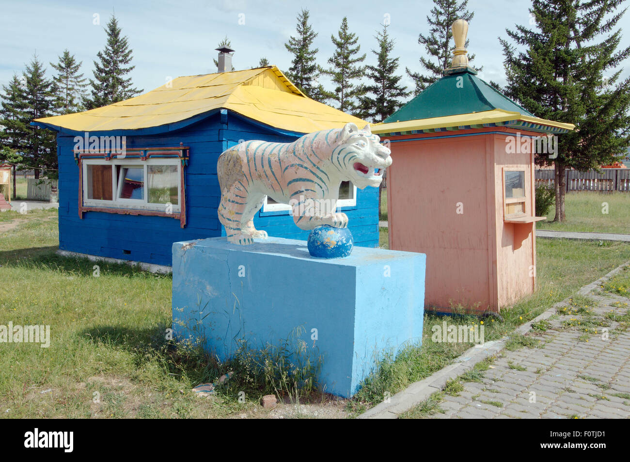 Tiger Wire Sculpture Stock Photos & Tiger Wire Sculpture Stock ...