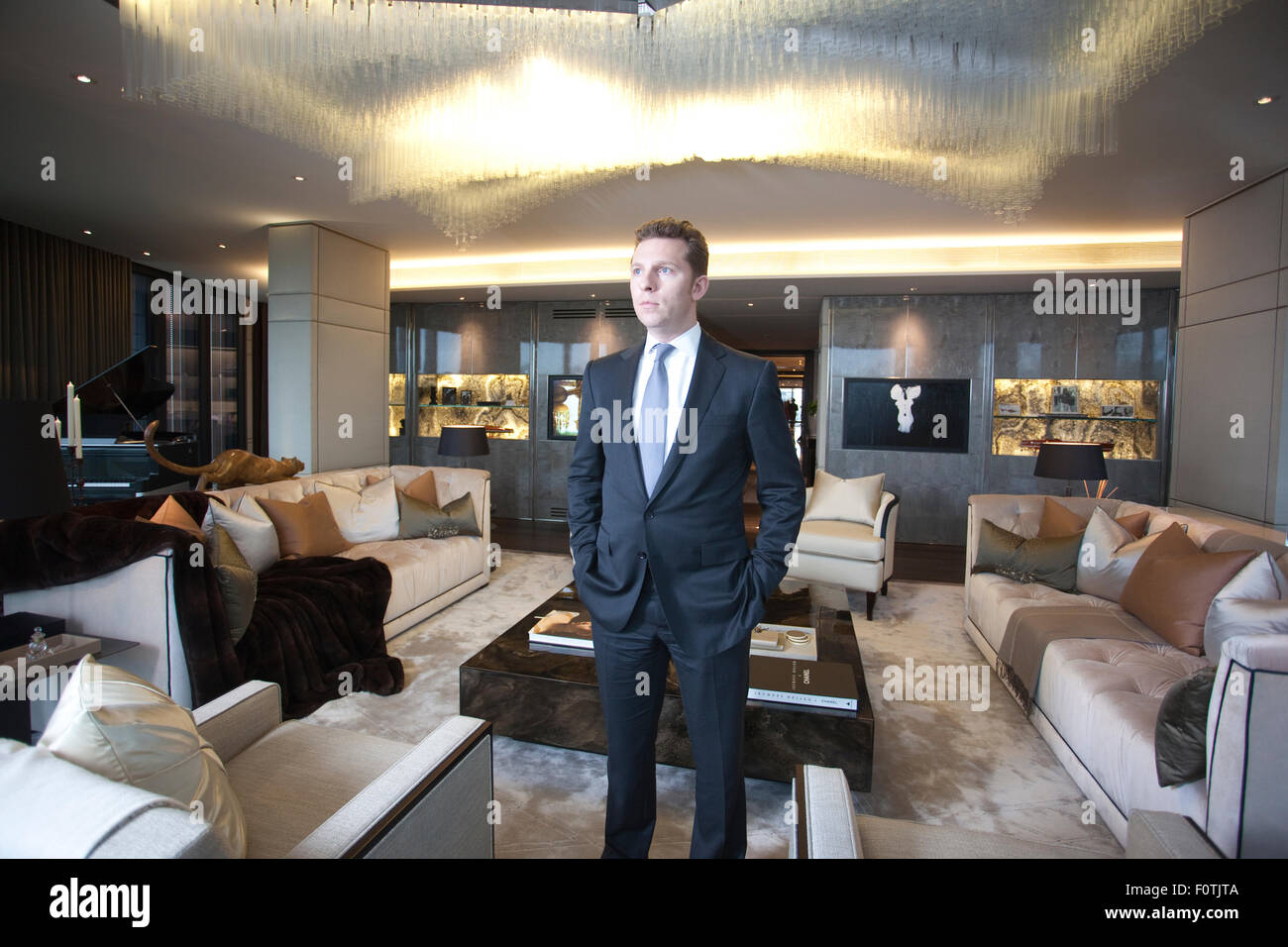 Nick Candy At ONE HYDE PARK The Most Expensive Luxury Residential Property In World Developed By And Christian