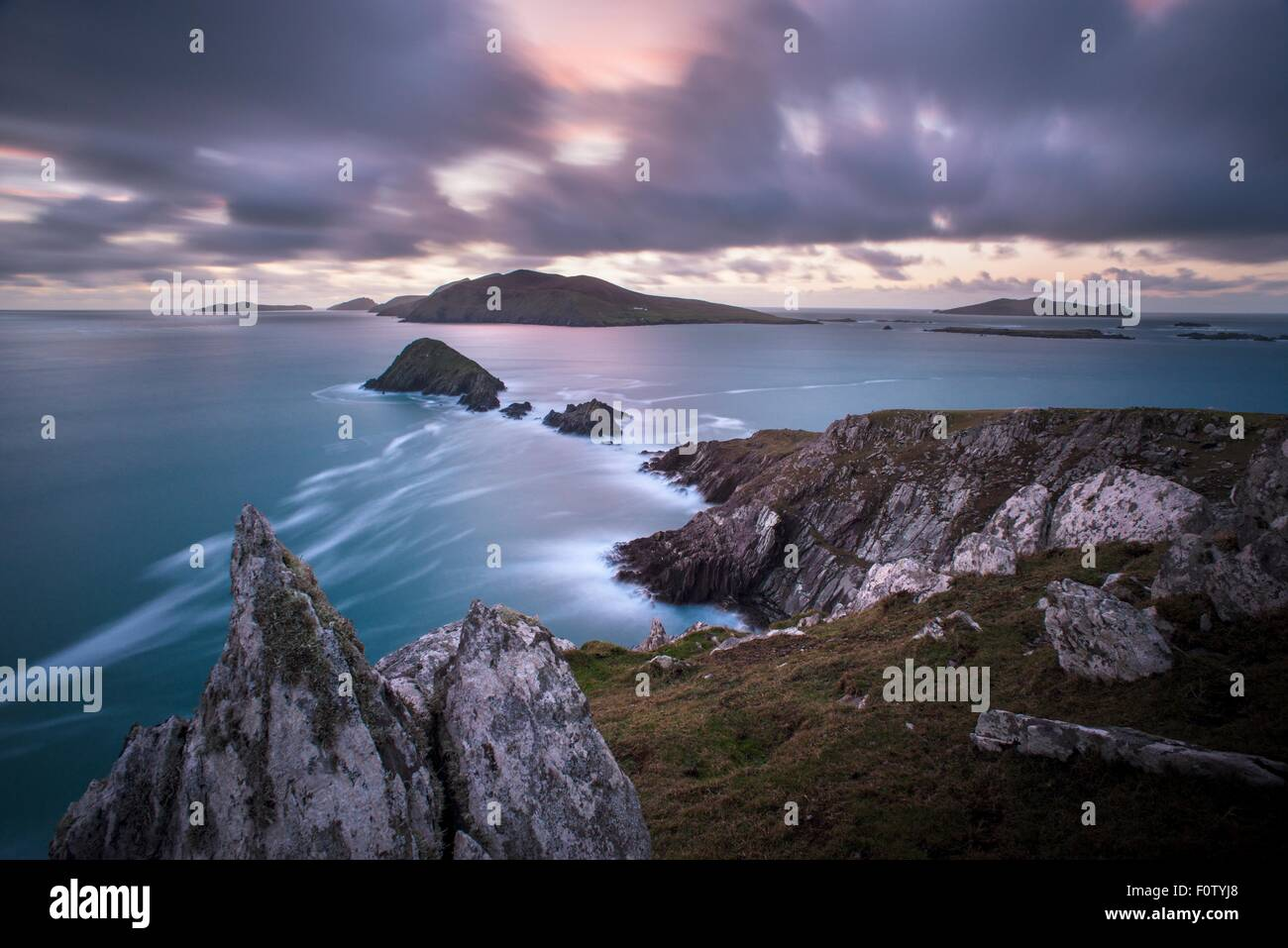 West Coast of Ireland - Stock Image