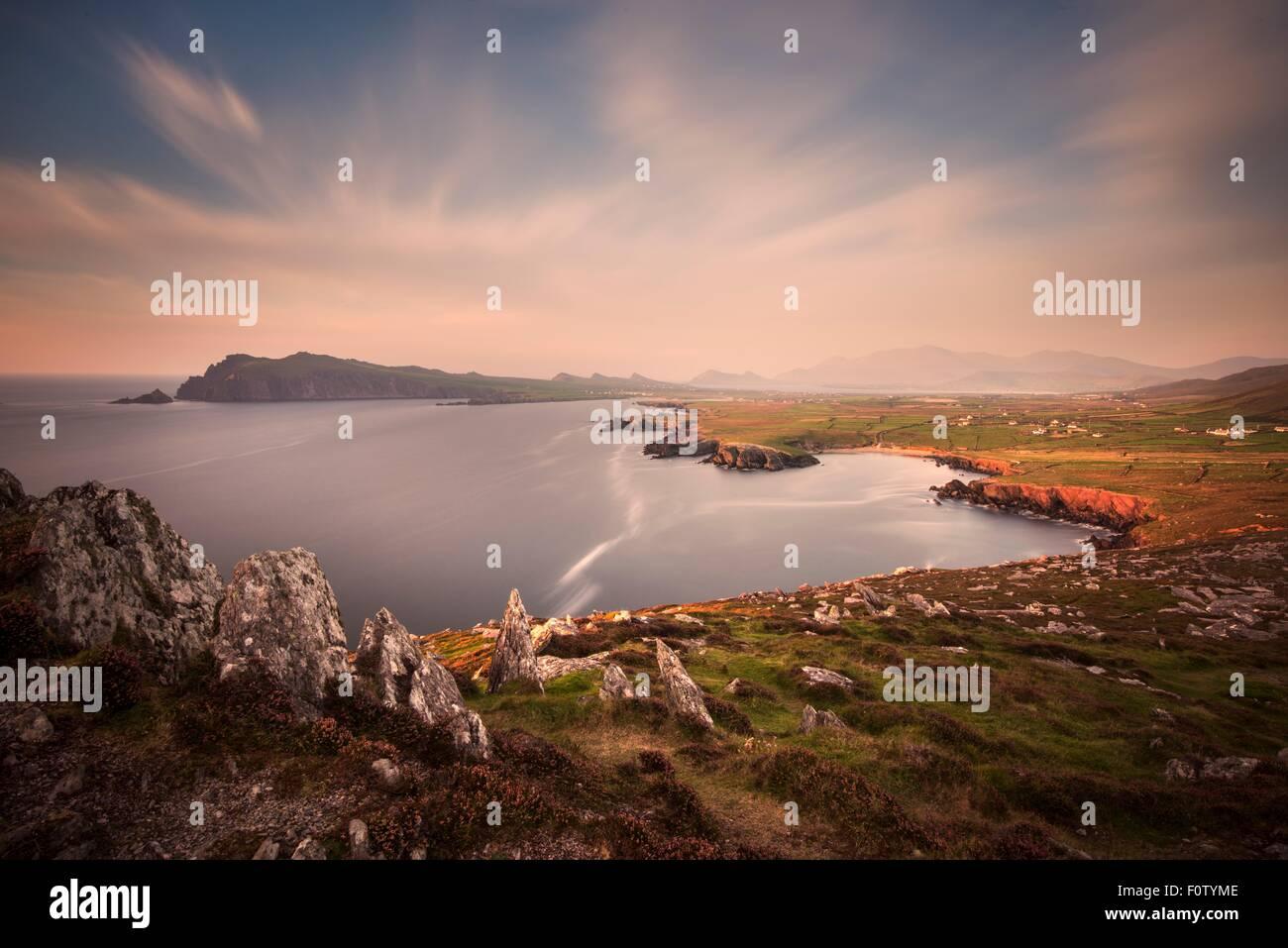 Seashore of Dingle Peninsula, County Kerry, Ireland - Stock Image