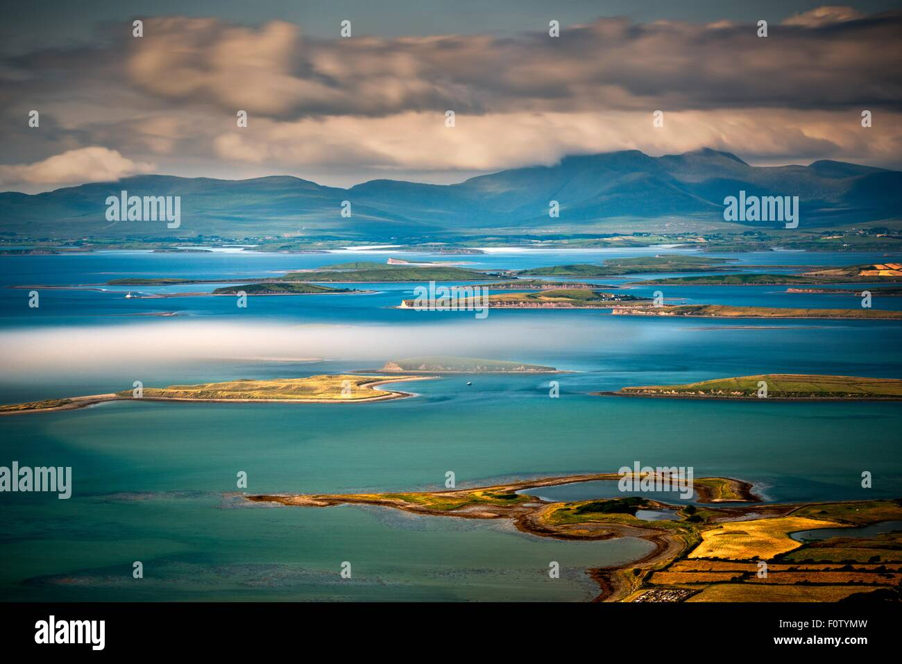 Clew Bay, Westport, County Mayo, Ireland - Stock Image