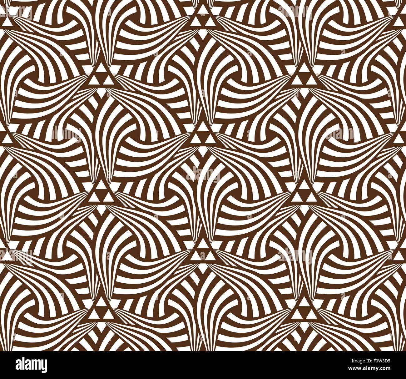 Geometric Abstract Seamless Pattern Motif Background