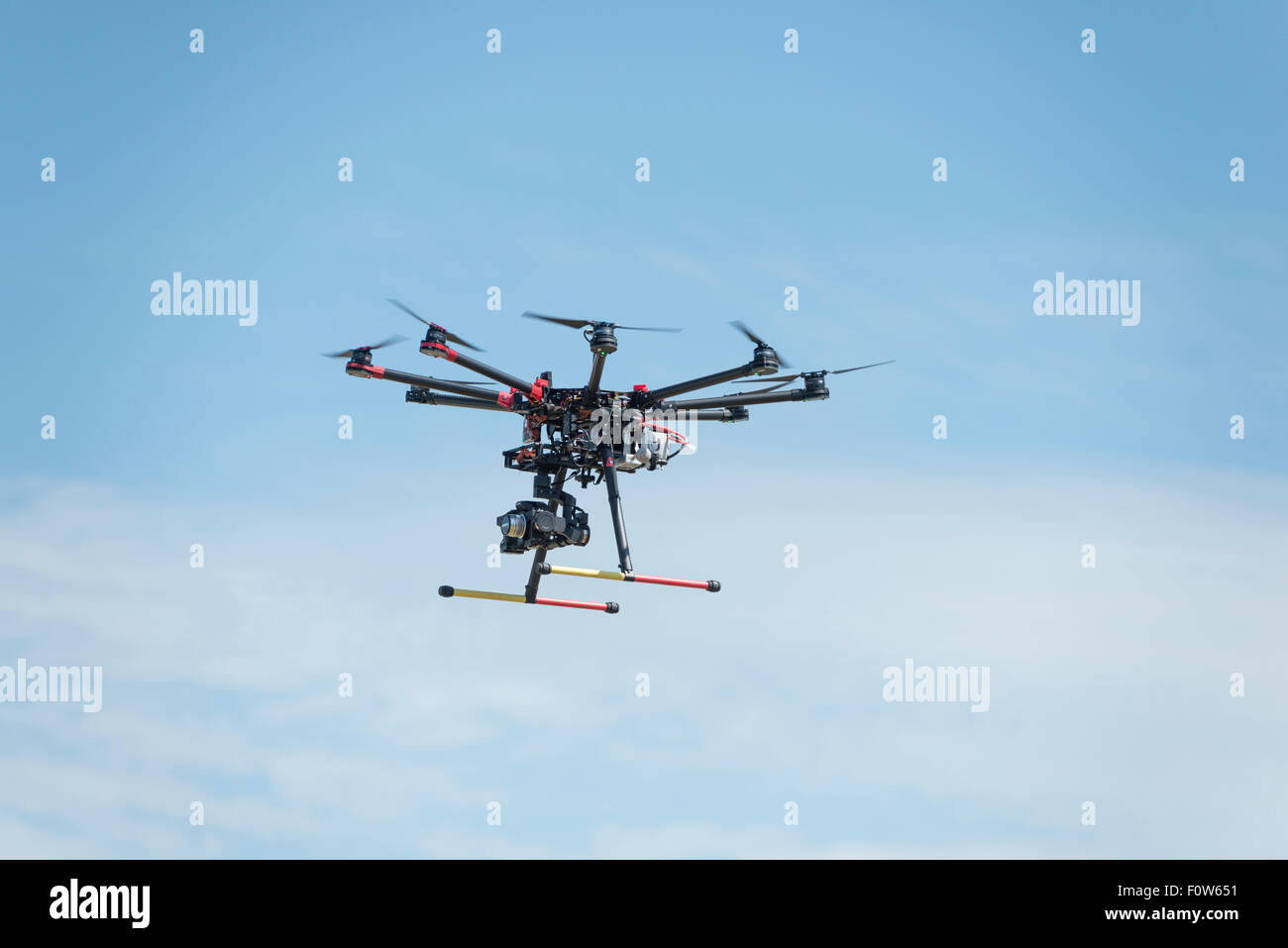 Hovering Drone - Stock Image