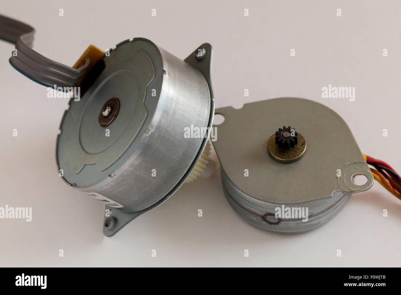 Stepper motors - Stock Image