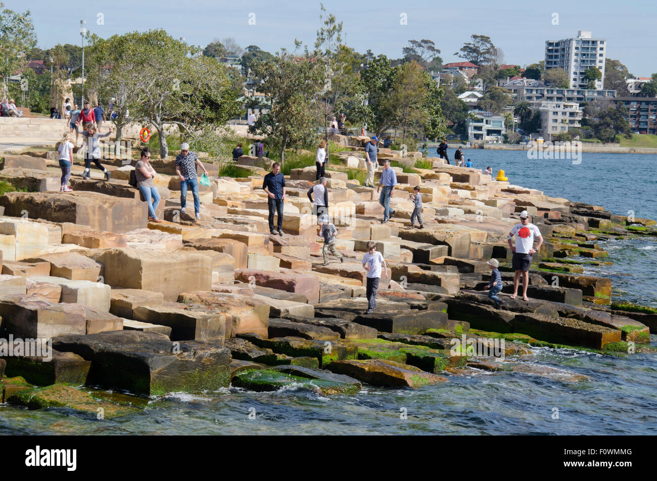 Barangaroo Headland Sydney Australia 22nd Aug 2015