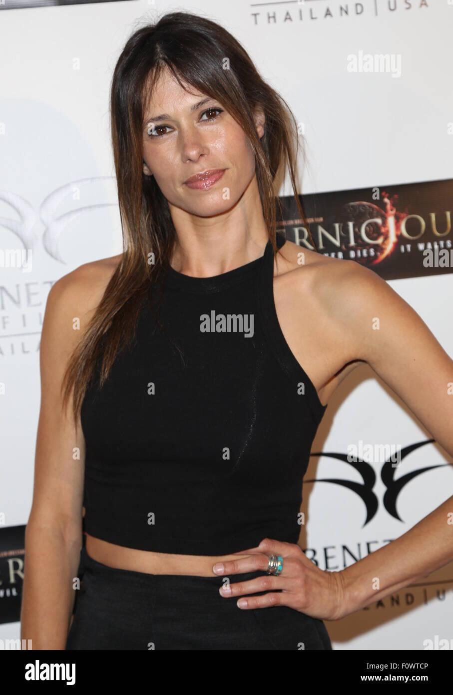 Angela Gots pernicious' premiere held at arena cinemas hollywood