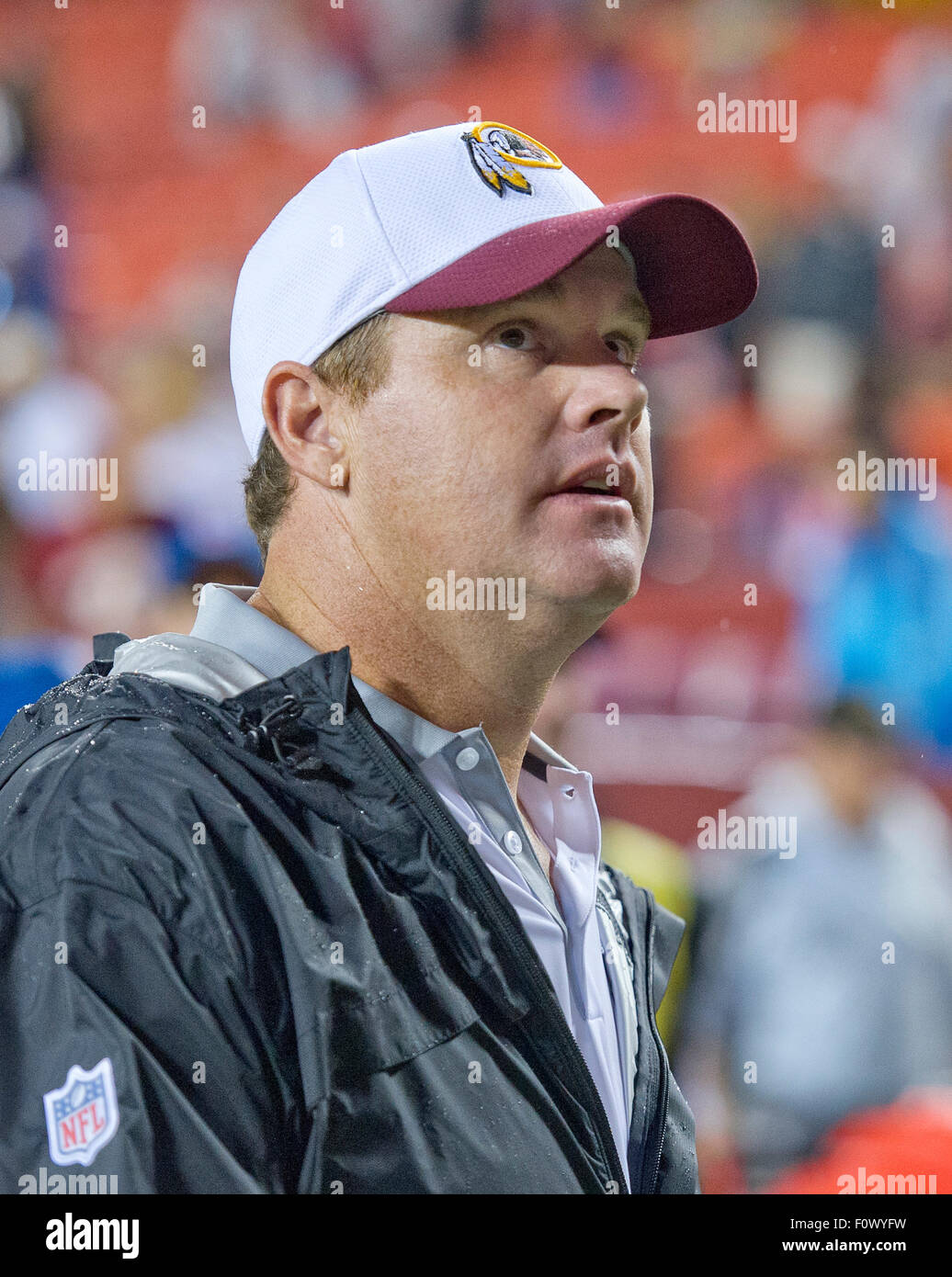 bfc4aa8b1 Washington Redskins head coach Jay Gruden leaves the field following his  team s 21 - 17 victory