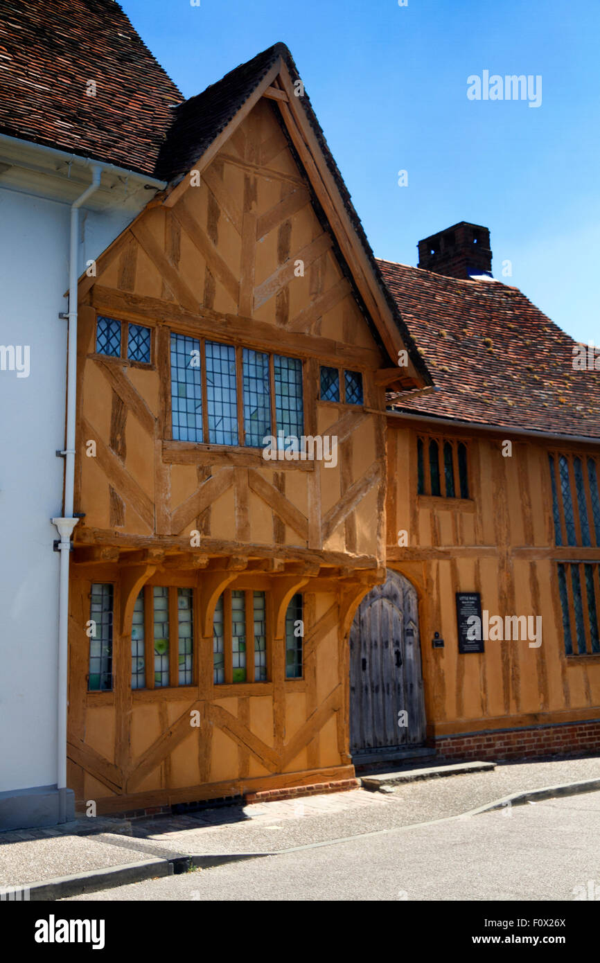 Little Hall Museum, Barn Street, Lavenham, Suffolk, UK Stock Photo