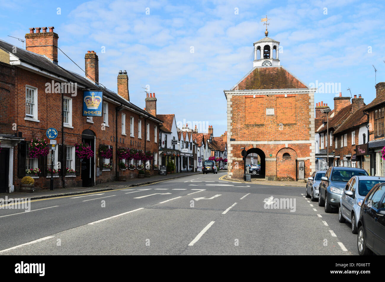 Old Amersham High Street, Buckinghamshire, England, UK - Stock Image
