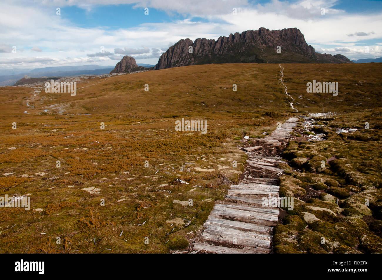 Cradle Mountain National Park - Tasmania - Australia - Stock Image