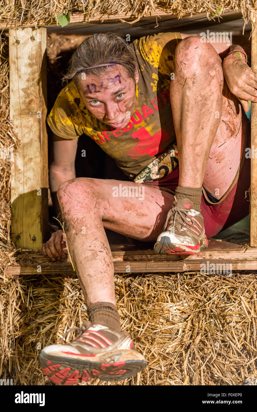Tough Mudder South West 2015 - Stock Image