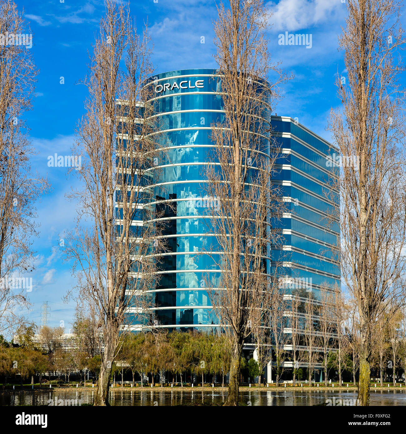 Oracle Corporation,Redwood Shores, California - Stock Image