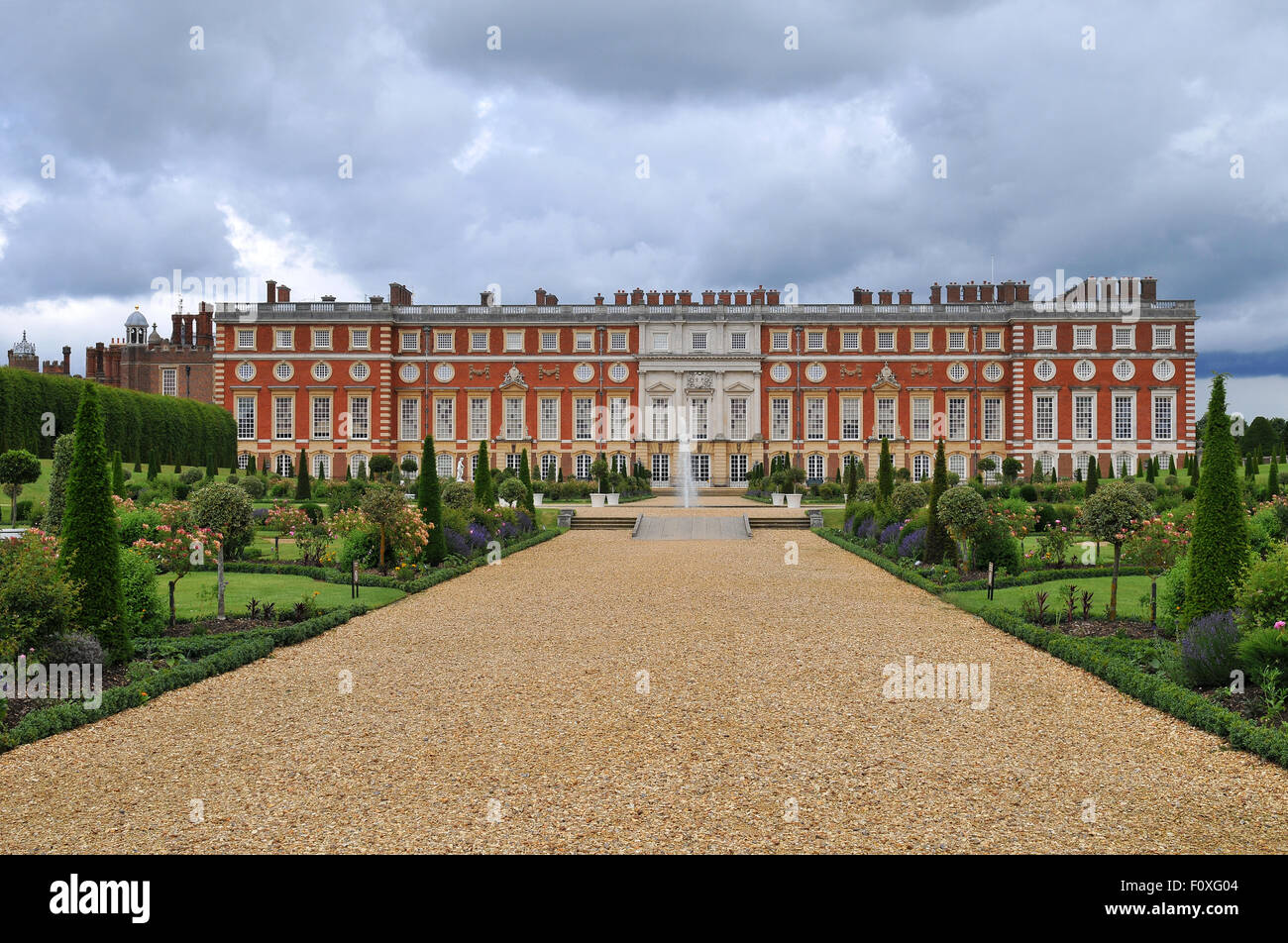 Hampton Court Palace - Stock Image