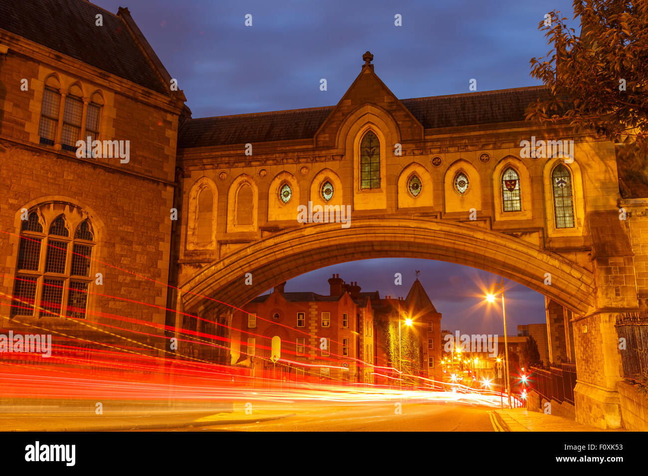 Cris Church Cathedral, Dublin, Ireland, Europe - Stock Image