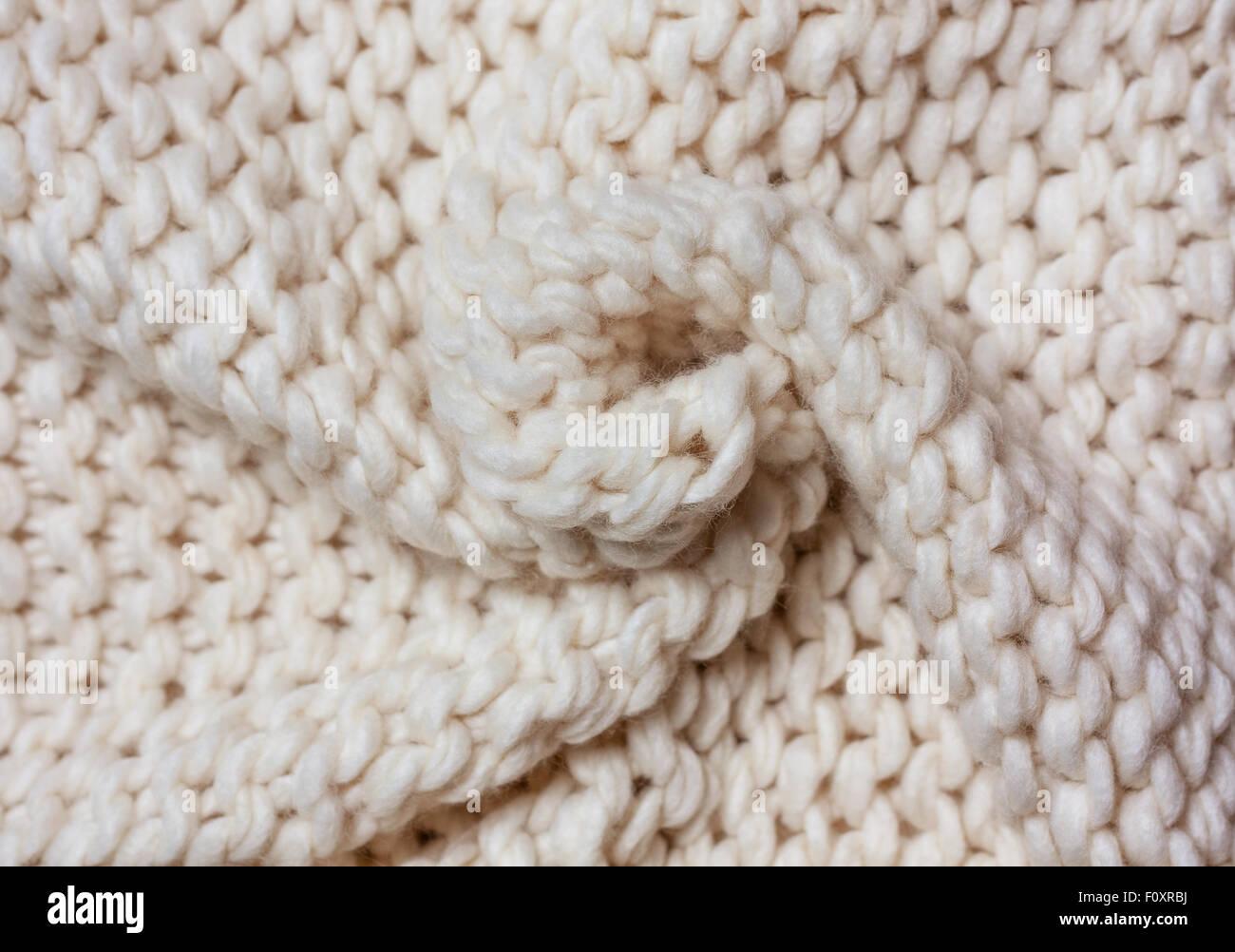 background of light drape knit fabric - Stock Image