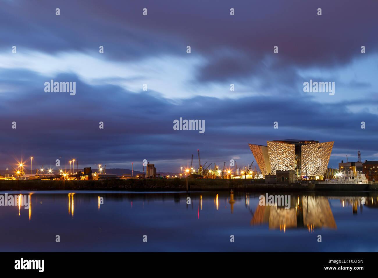 Titanic Museum, Belfast, North Ireland, United Kingdom, Europe Stock Photo