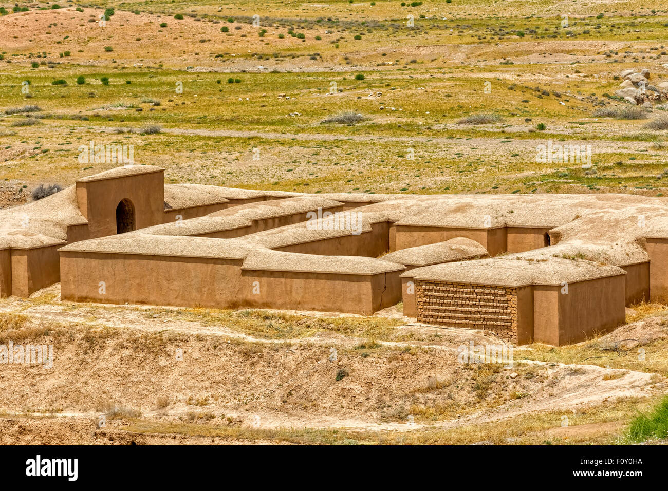 Persepolis Treasury - Stock Image