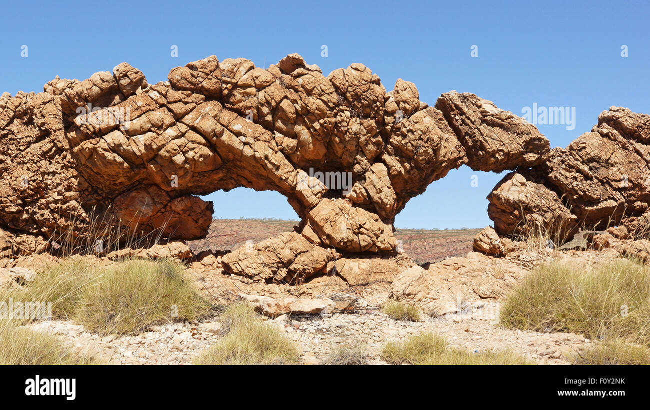 Landscape in the outback of Australia - Stock Image