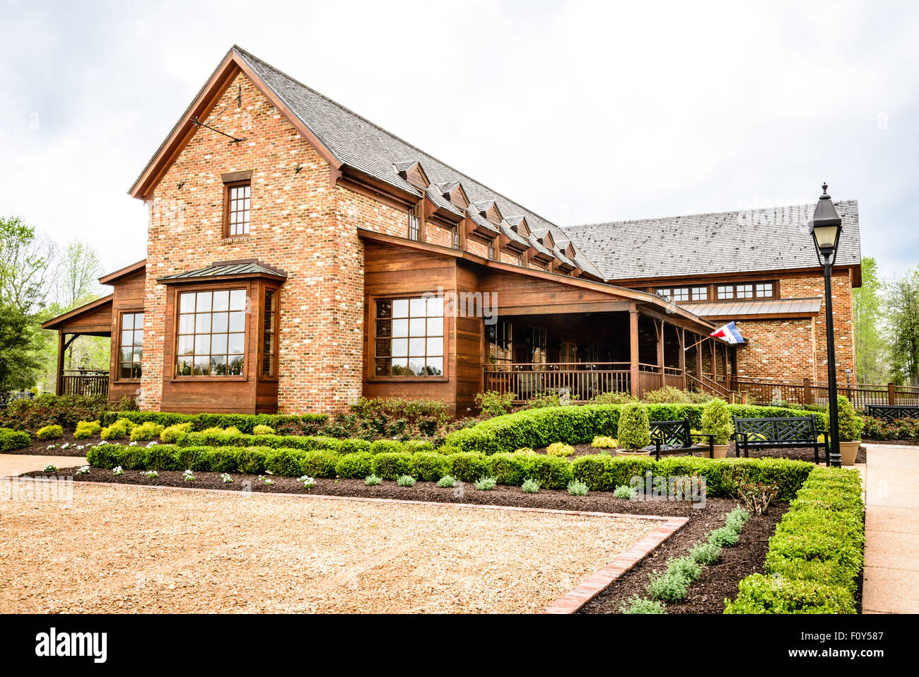 New Kent Winery, 8400 Old Church Road, New Kent, Virginia - Stock Image