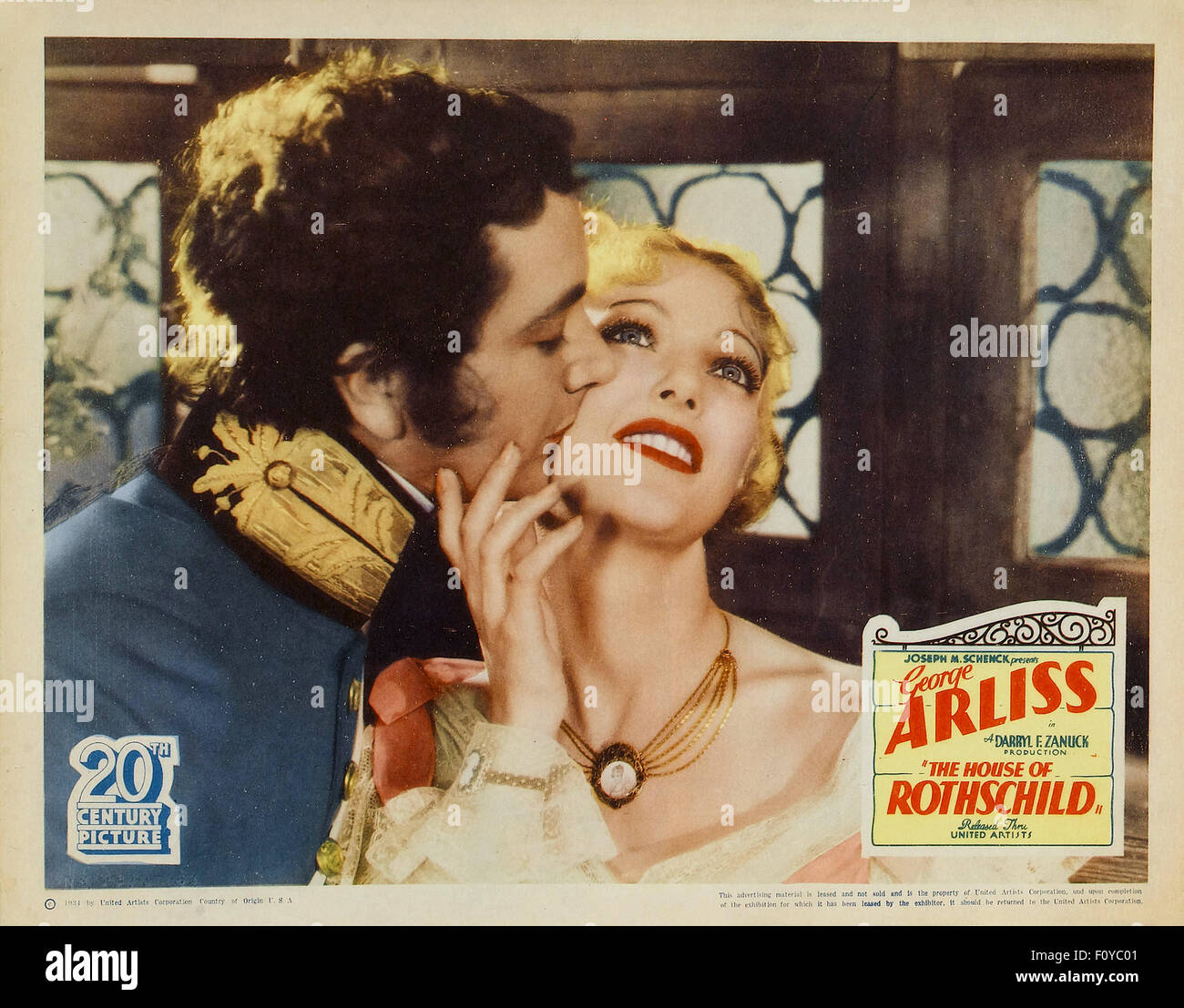 The House of Rothschild   - 01 - Movie Poster - Stock Image
