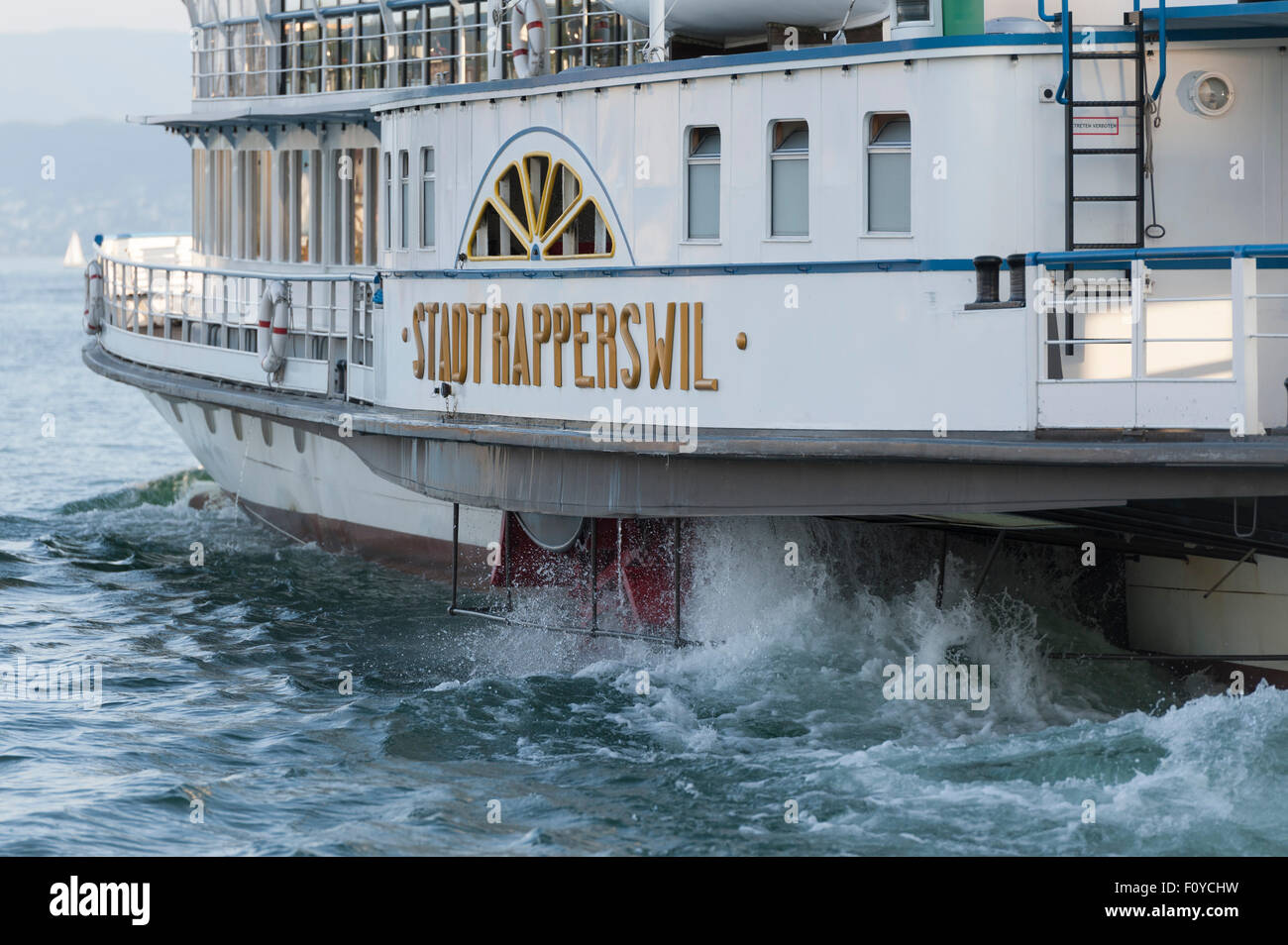 Side Paddle Wheel Stock Photos & Side Paddle Wheel Stock