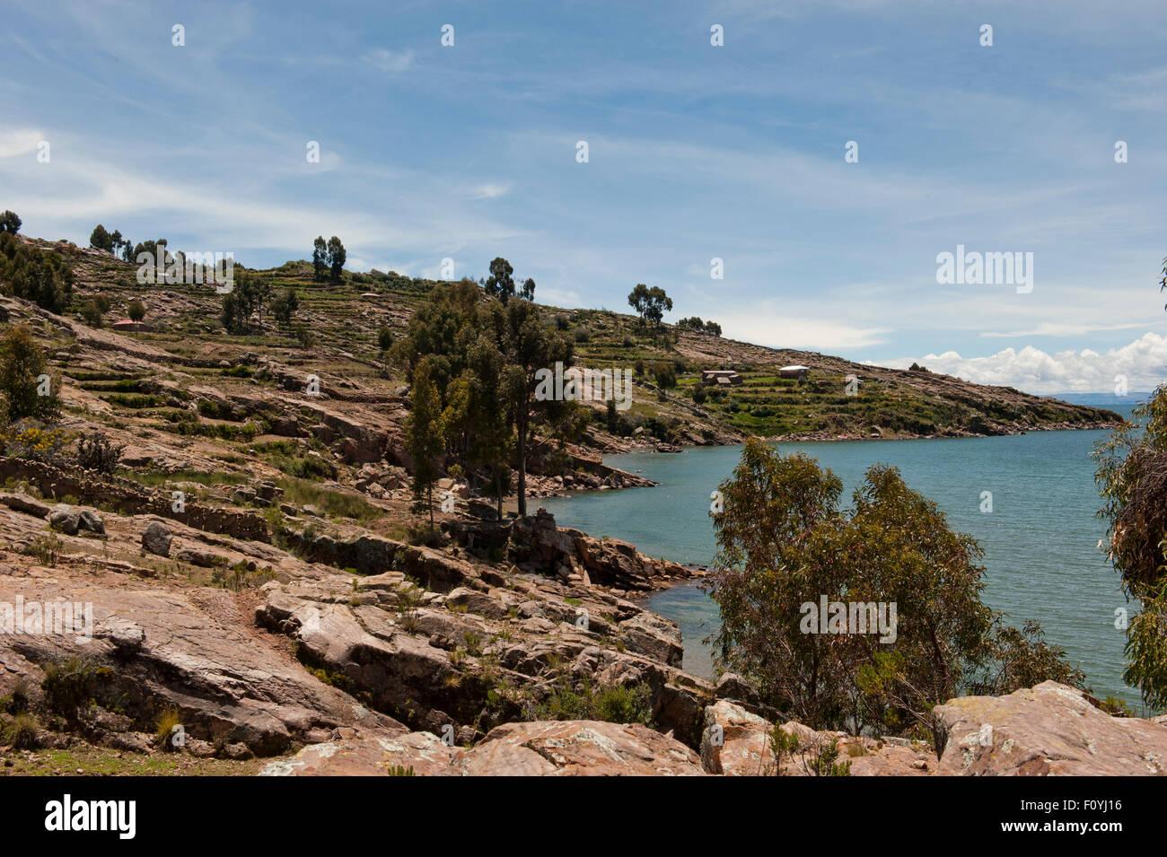 Taquile Island - Stock Image