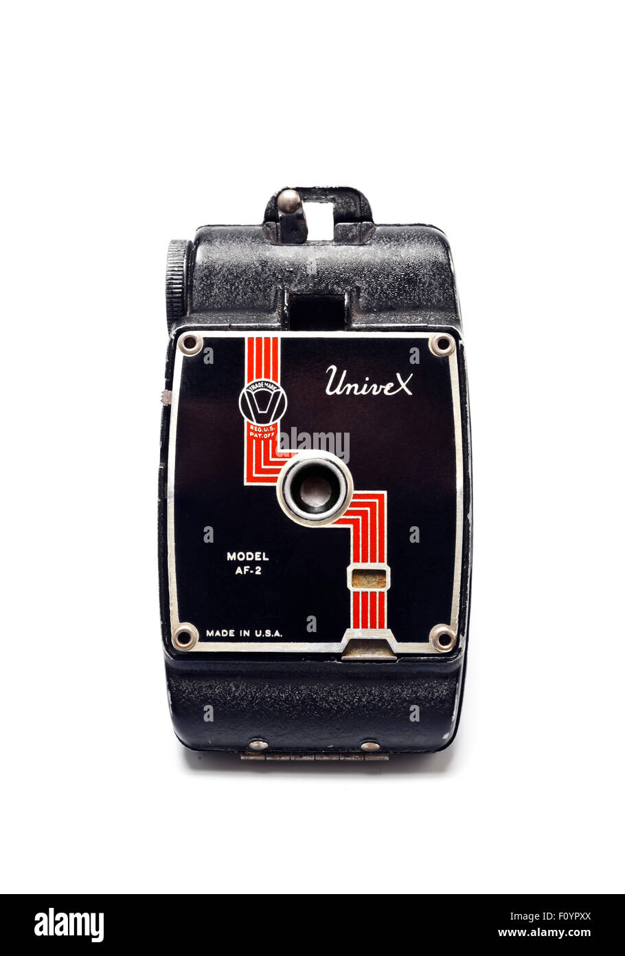 The Univex AF-2 Miniature Film folding spy Camera - Stock Image