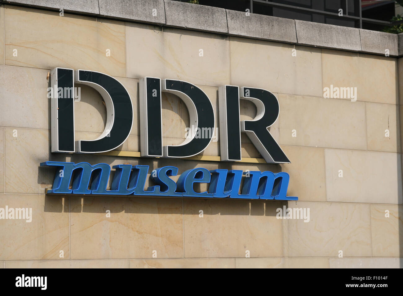 berlin germany DDR MUSEUM - Stock Image