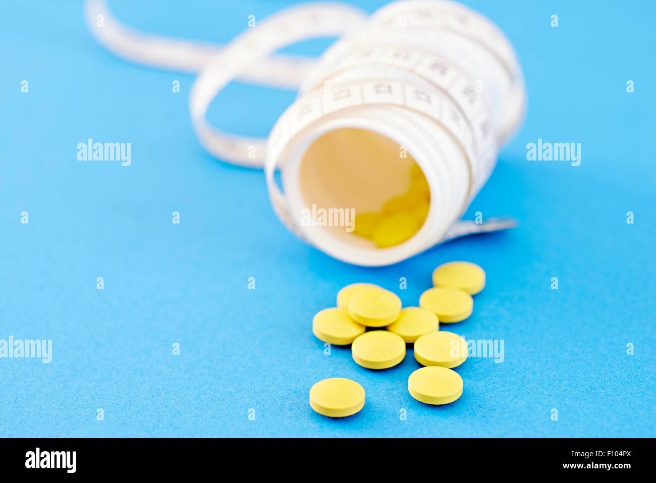 SLIMMING TREATMENT - Stock Image