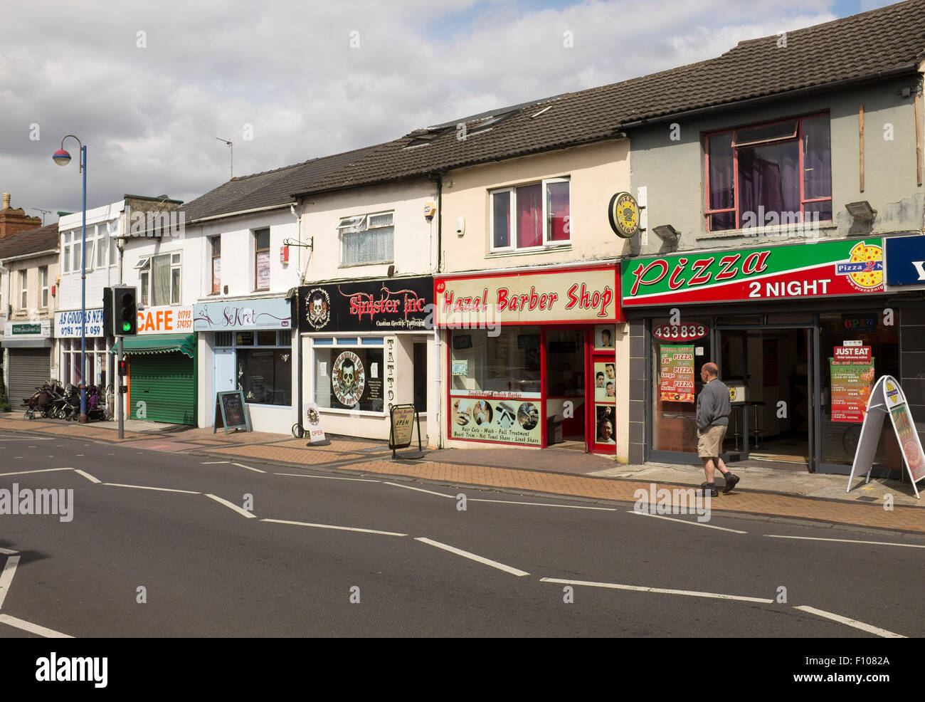 Cricklade Road Gorse Hill Swindon Stock Photo 86672834 Alamy