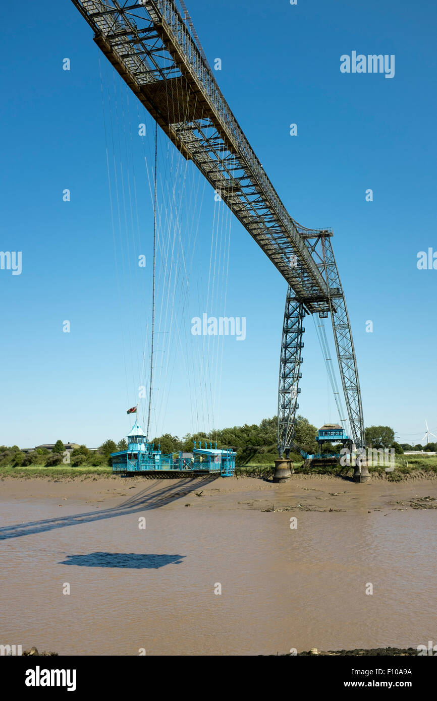 The Transporter Bridge Newport South Wales - Stock Image
