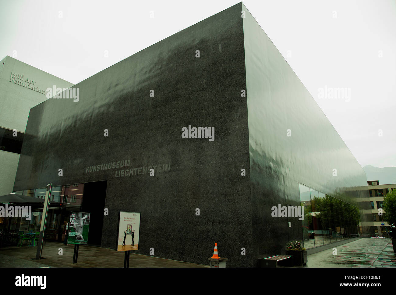 Kunstmuseum Liechtenstein National Art Museum in Vaduz - Stock Image