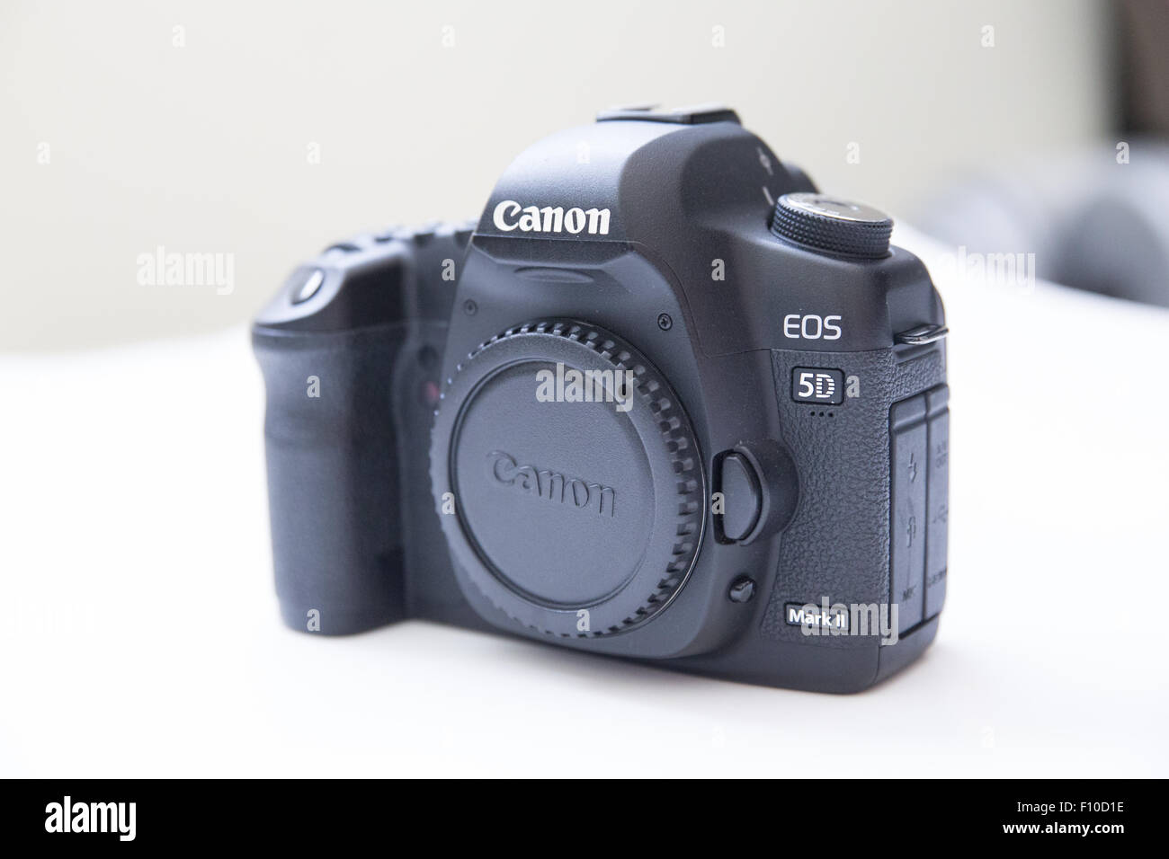 Canon DSLR 'digital SLR' 5d Mark2 - Stock Image