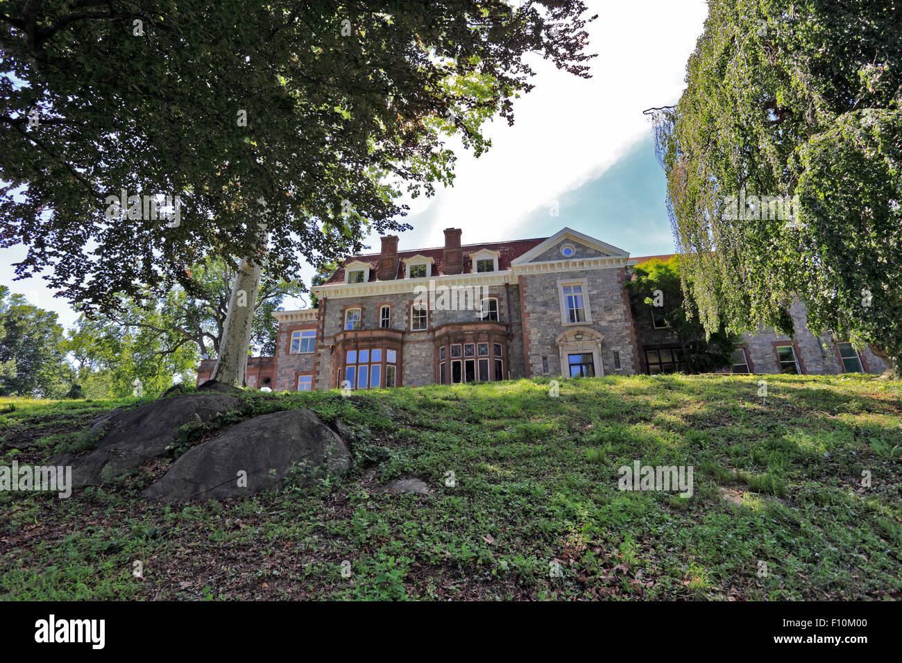 Lenoir Mansion Yonkers New York - Stock Image