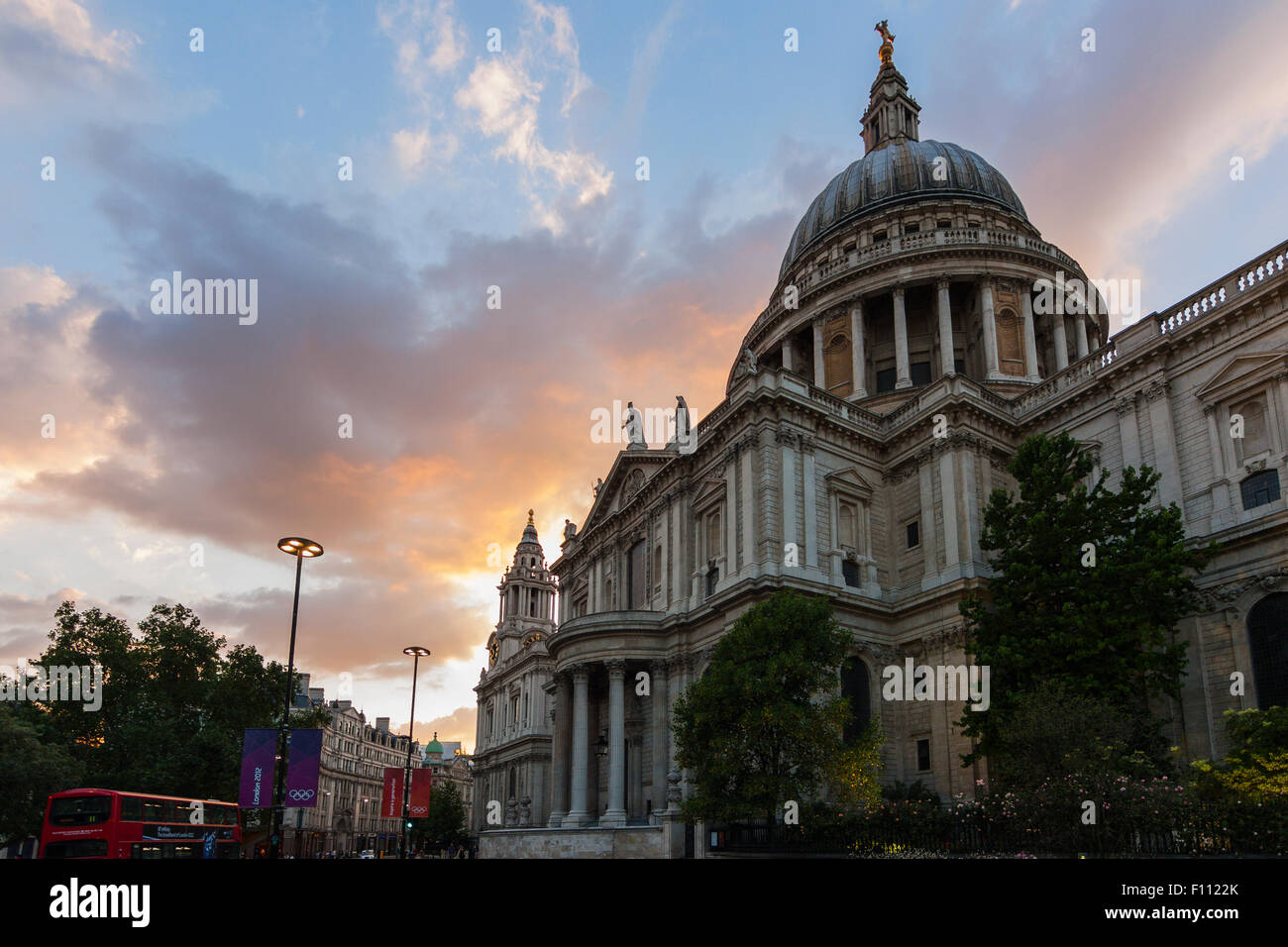 St Paul's Cathedral, London, England, United Kingdom Stock Photo