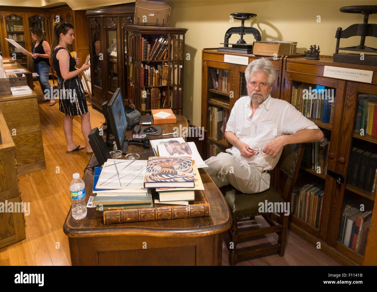 Midtown Scholar bookstore Harrisburg PA - Stock Image